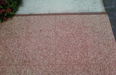 Epoxy Floor Service in Walkway of Home